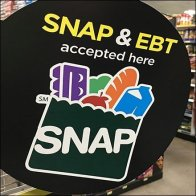 SNAP And EBT Accepted Aisle Invader