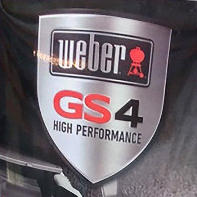 Weber Grill Freestanding Point-of-Purchase Sign