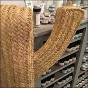 Woven Wicker Cactus Props Retail Shop