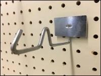 Anti-Sweep Galvanized Hook Back-Labeled