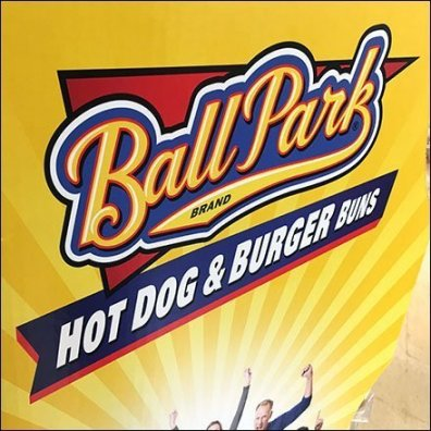 Ball Park Franks Hot-Dog-Buns Branded Display