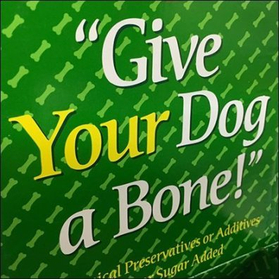 Bone Your Dog Pet Treat Tagline