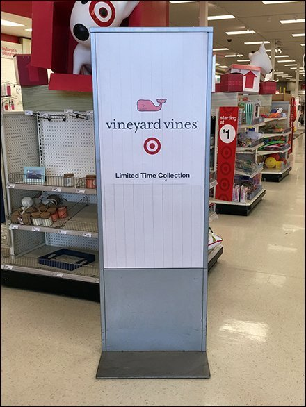 Vineyard Vines Limited Time Collection Sign