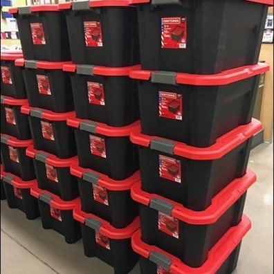 Craftsman Branded Storage Totes Mass Merchandising Main3