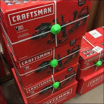 Power Tool Anti-Theft Security for Craftsman