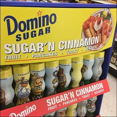 Sugar-and-Cinnamon Combination Merchandising