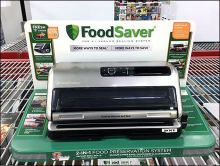 FoodSaver Sealer Linear Display Merchandising