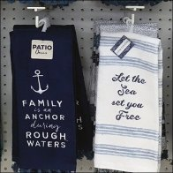Hand Towel Inline Scan Hook Merchandising