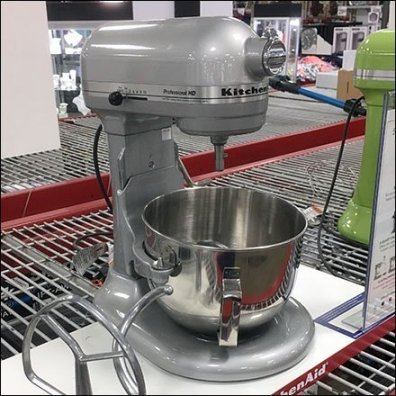 KitchenAid Bowl Mixer Display Owns The Shelf