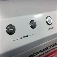 Monster Speaker Demonstration Try-Me Controls