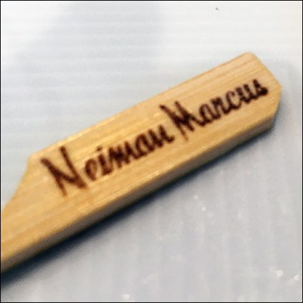 Nieman Marcus Cafe Branded Toothpick Feature