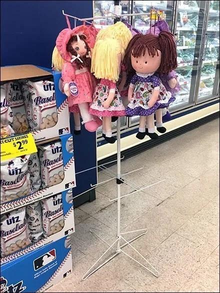 Rag Doll Tower Cooler Aisle Cross-Sell