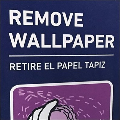 How to Remove Wallpaper Instruction Icons