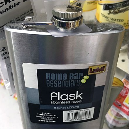 Stainless-Steel Flask Strip Merchandiser Feature1