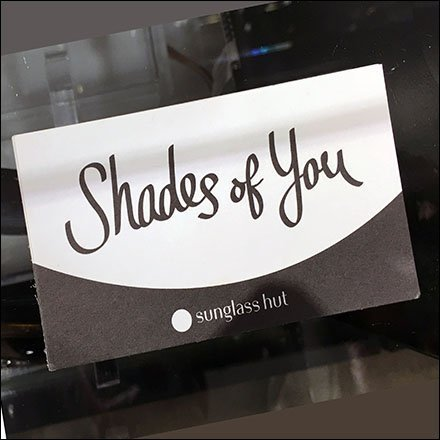Sunglass Hut Shades of You Outreach Form Feature