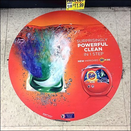 Surprisingly Powerful Circular Floor Graphic