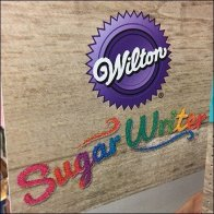 Wilton Sugar Writer Aisle Invader Sign
