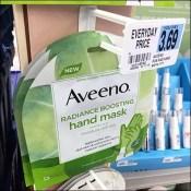 Aveeno Hand Mask Specialty Merchandiser