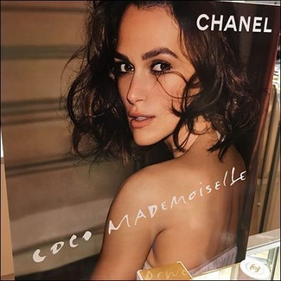 Chanel Coco Mademoiselle Counter-Top Display