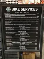 In-Store Bike Services Menu Signage