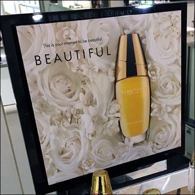 Estee Lauder Beautiful Counter-Top Display