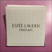 Estee Lauder Pleasures Perfume Tester Card