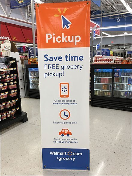 Free Grocery Pickup For Online Orders