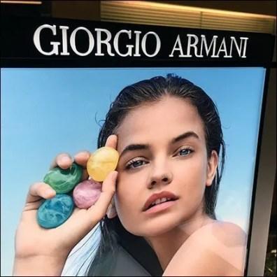 Giorgio Armani Acqua-di-Gioia Counter-Top Display