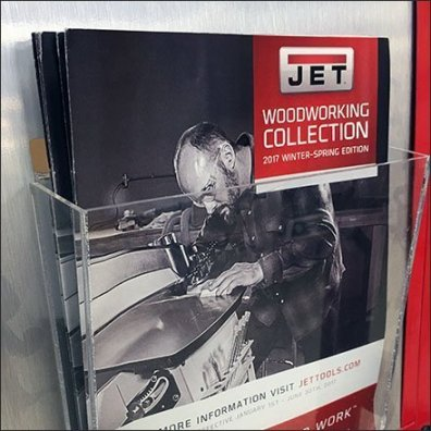 Jet Woodworking Collection Literature Stand