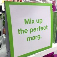 Margarita Merchandising Accessory Island