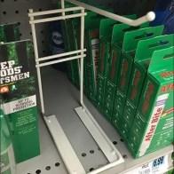 Off Shelf-Top Freestanding Display Hook