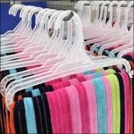 Oversized Beach Towel Hanger Merchandising