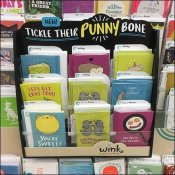 Punny Bone Greeting In-Line Card Display