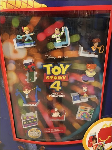 Toy Story Toy-Embedded Sign Stand