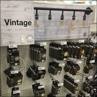 Vintage Replacement Lightbulb Inline Display