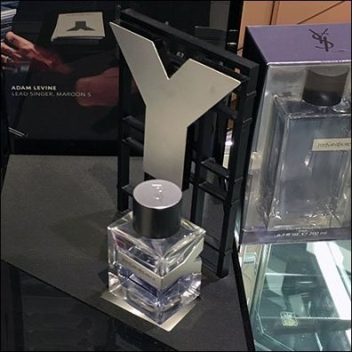 Yves Saint Laurent Fragrance Display Dimensional Square3