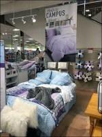 Back-To-Campus Bed Linen Merchandising