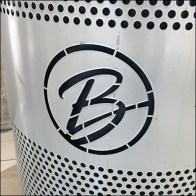 Boscovs Branded Waste Receptacle Recycling Feature