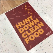 Hunting-Down-Pet-Food Floor Graphic