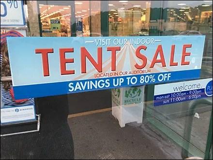 Indoor-Tent-Sale Hot Weather Alternative