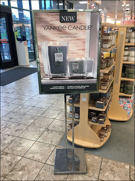 New Yankee Candle Freestanding Sign