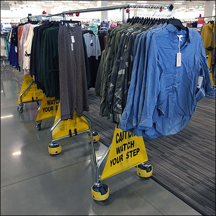 Nordstrom Rack Apparel-Rack-Warning