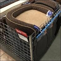Pet-Bed Horizontal Bulk-Bin Merchandising