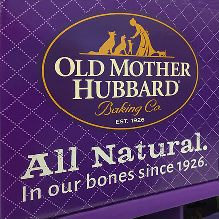 Old-Mother-Hubbard All-Natural Tagline Emphasis