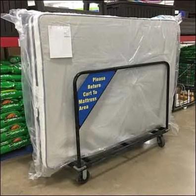 Warehouse-Club Mattress Transport Cart