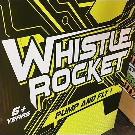 Katyusha Whistle-Rocket Corrugated Display