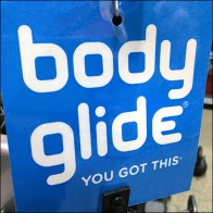 Body-Glide Blue Strip Merchandiser