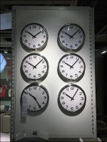 Timely Wall-Clock End-Aisle Display