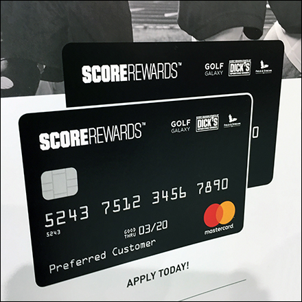 Sporting Goods Rewards Score-Card