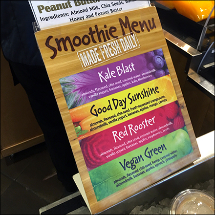 Fresh-Made Grab-&-Go Smoothies